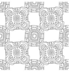 Black and white for coloring book vector