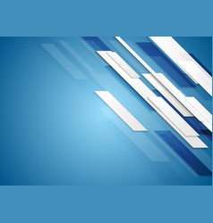Blue shiny hi-tech motion background vector