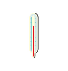 Body thermometer - medical equipment for measuring vector