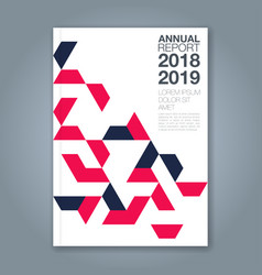 Cover annual report 1191 vector