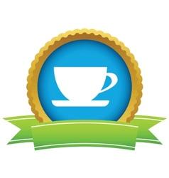 Gold cup logo vector