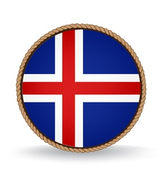 Iceland Seal vector image