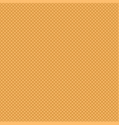 seamless waffle texture pattern vector image