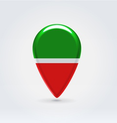 Tatarstan icon point for map vector image vector image