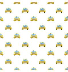 Taxi car pattern vector