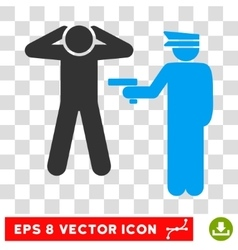 Arrest Eps Icon vector image