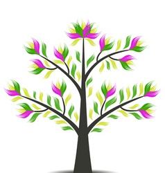 Beautiful art tree vector
