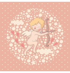 Cartoon of Cupid vector image
