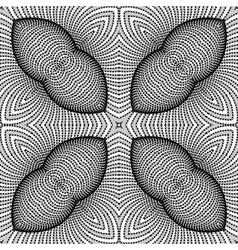 Design seamless monochrome striped background vector
