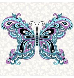 Fantasy vintage butterfly vector