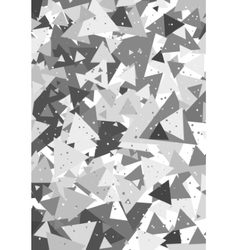 Geometric pattern with triangles vector image