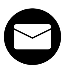message envelope mail icon image vector image