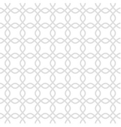 Seamless pattern made geometric repeated vector