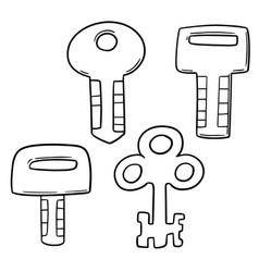 set key vector image