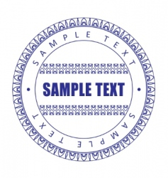 guilloche print vector image vector image