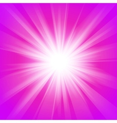Pink and purple abstract magic light background vector image vector image
