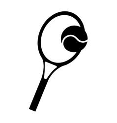 racket tennis sport equipment icon vector image