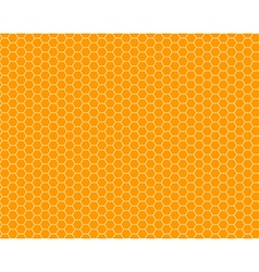 color honeycomb seamless pattern vector image