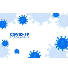 Corona virus covid-19 background vector
