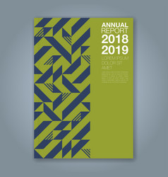 Cover annual report 1201 vector