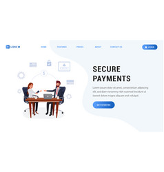 Landing page payment protection vector