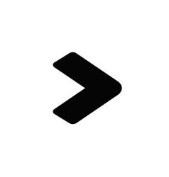 move to next icon vector image