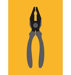 Pliers design vector