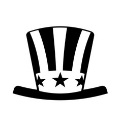 usa hat isolated icon vector image vector image