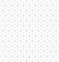 Abstract minimalistic geometrical design vector image
