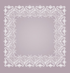 abstract decorative floral ethnic vector image