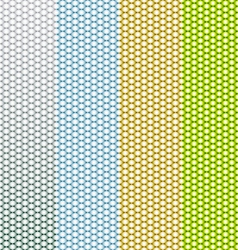 Abstract geometric triangle seamless patterns set vector