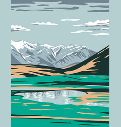 Brooks range from near galbraith lake located in vector