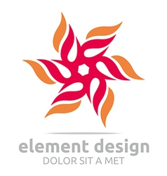 Element design symbol icon vector