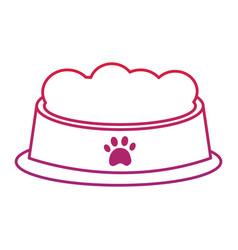 Food bowl pet icon image bird tropical icon imag vector