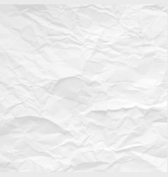 Gray crumpled paper texture design vector