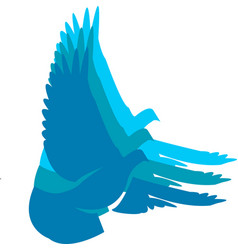 logo of bird vector image