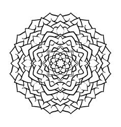 mandala arabic2 vector image