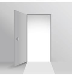 Open doors vector