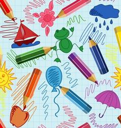 School sketch vector
