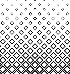 Seamless monochrome square pattern background vector