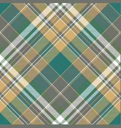 Tartan plaid color textile seamless pattern vector