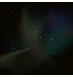 Universe stars nebula vector image