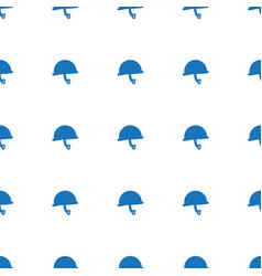 War helmet icon pattern seamless white background vector