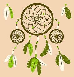 Aztec dream catche vector image