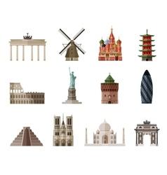 travel journey logo design template vector image vector image