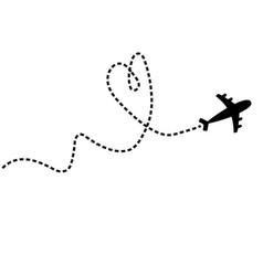 Air plane icon black silhouette shape airplane vector