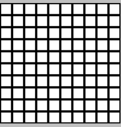 Black and white square checkered background vector