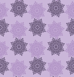 Bright colored seamless pattern of openwork stars vector image