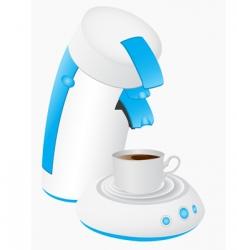Coffee maker vector