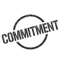 Commitment stamp vector